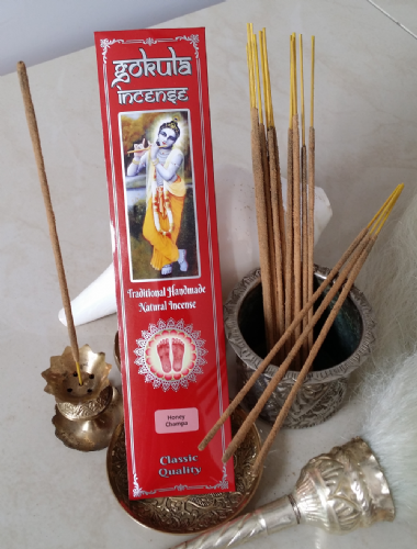 Honey Champa Incense Sticks - 20 grams